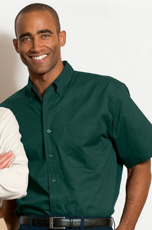 Dark Green Button Down Shirt | Is Shirt